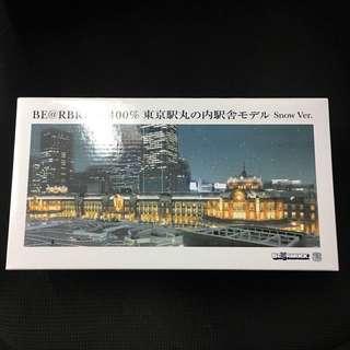 Bearbrick 400% 東京車站 Snow Version 雪景 Be@rbrick Toy Figure Art Rabbrick R@bbrick Nyabrick Ny@brick 模型 擺設 收藏品