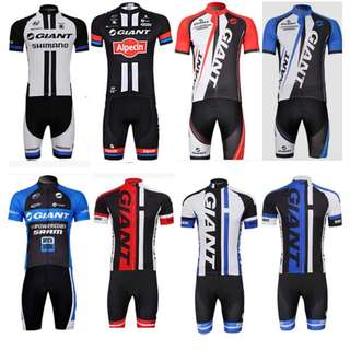 Quality Cycling Jersey Set - Giant