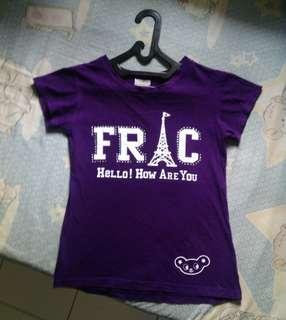 Purple top shirt