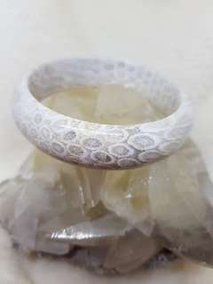 Coral Jade Bangle design 57