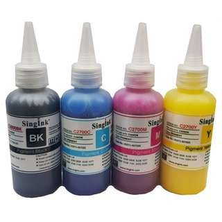 For Canon 2700 100ML Pigment Ink 4 Colors Set