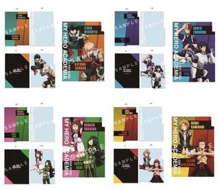 [PO] Boku No Hero Academia 3-pocket Files