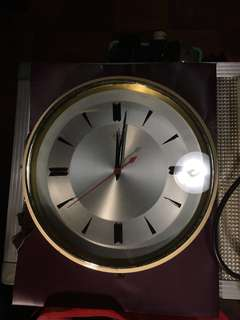 Vintage Diamond Clock