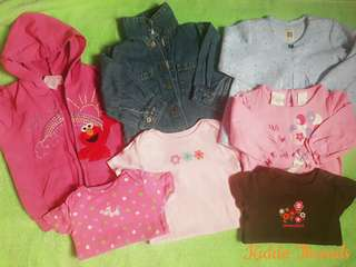 12-24 months baby clothes