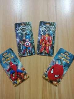 Avengers / Marvel rubberized keychain