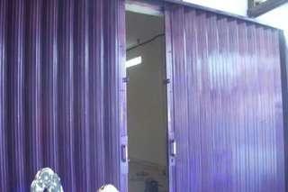 Pintu folding gate dan roling door