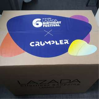 Lazada 6th Birthday Mystery Box - Crumpler
