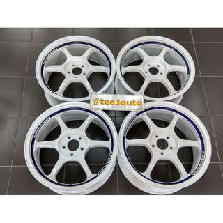 "ADVAN RG 17"" 7.5jj off 48 5H 100 Original JAPAN"