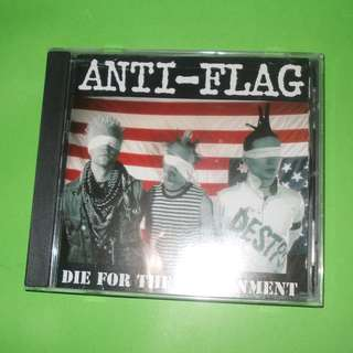 CD ANTI-FLAG : DIE FOR THE GOVERNMENT ALBUM (1997) PUNK ROCK HARDCORE