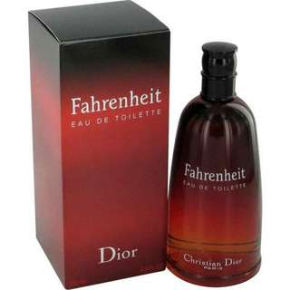 Fahrenheit Tester Perfume