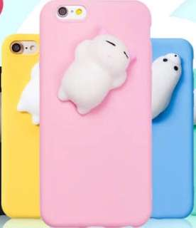 Squishy phone case