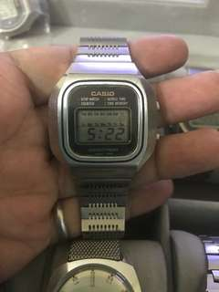 Vintage Casio X-1s Casiotron S-14 Men's Digital Watch