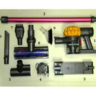全新 Dyson V6 Trigger 無線吸塵機 有 HEPA 濾網 英國版