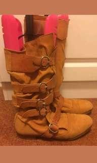 Vivienne Westwood Pirate Boots sz UK 5 38 Kate Moss Vintage Rare