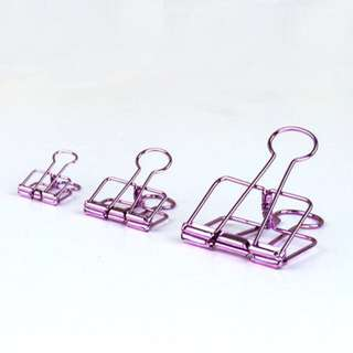 instock! - Purple Binder Clips