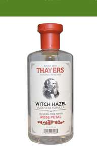 Thayers toner (alcohol free)