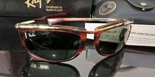 Kacamata rayban BL Usa wayfarer olympian vintage