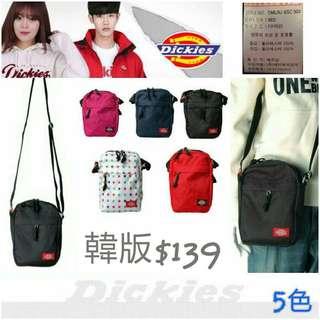 韓國代購Dickies斜孭袋