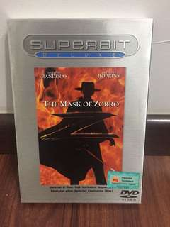 The Mask Of Zorro 2-Disc Deluxe DVD Set