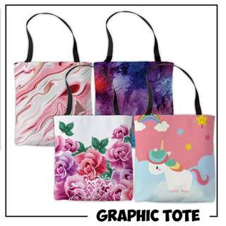 Graphic Tote Bag 009