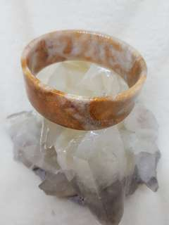 Coral Jade Bangle Design 66