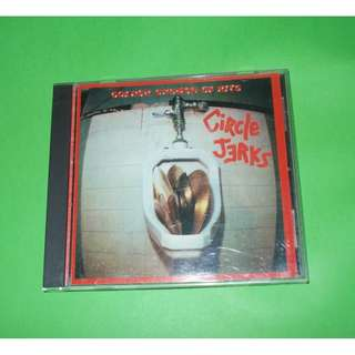 CD CIRCLE JERKS : GOLDEN SHOWER OF HITS ALBUM (REISSUE, REMASTERED 1992) HARDCORE PUNK