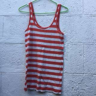 Stripped basic top