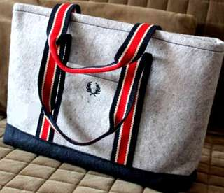 Fred Perry tote bag (Authentic)
