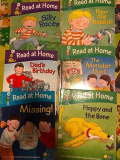 Oxford Reading Tree Read at Home (6 Books)