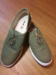 Ring casual shoes green