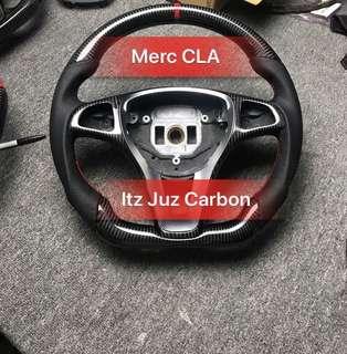 Mercedes CLA 180 Carbon Steering