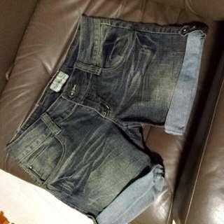 Coax Jeans Denim Shorts