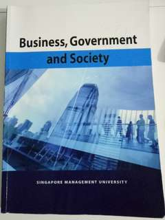 Business, Government and Society SMU