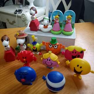 KidsToy McDonalds Toy's Collection