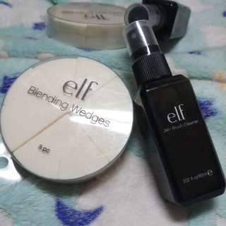 ELF Brush Cleaner & Blending Wedges Bundle