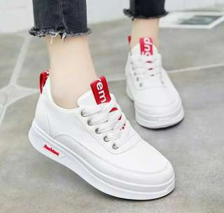 Versatile korean styles sneakers for woman
