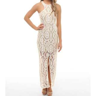 Winona Lace Maxi Dress