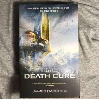 The death cure novel (serial 3 maze runner)