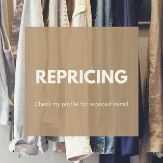 Repricing