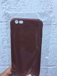 Leather like iphone 6 6s case