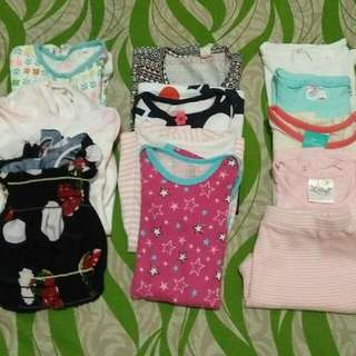 10 Pcs. Branded Baby Clothes Bundle (6-12 Mos)