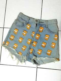 Simpsons highwaist jeans