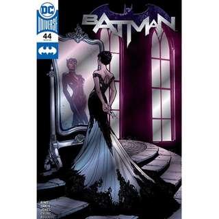 DC Comics Batman #44 Wedding Cat Woman C2E2 Convention Exclusive Silver Foil Cover NM/NM+ Sealed in Baggie
