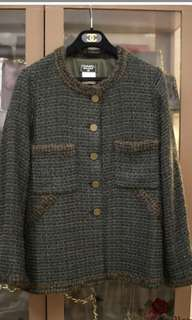 Chanel Vintage Tweed Jacket 絕版