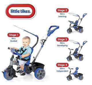 Little tikes deluxe 4 in 1 trike tricycle