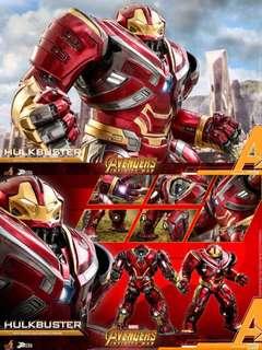hottoys 首日4點訂單(復仇者3)Hulkbuster 2.0 power pose hot toys