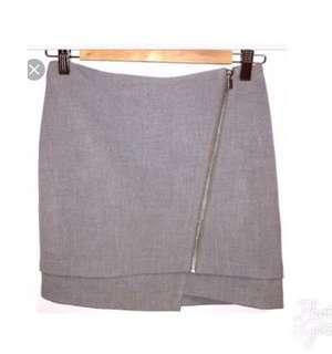 H&M Asymmetrical Origami skirt