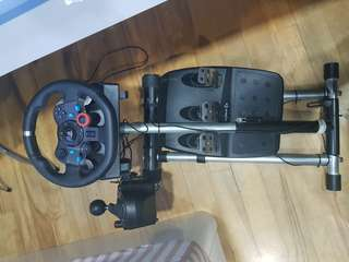 G29 wheel set with shifter and wheel stand Pro