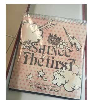 [OFFICIAL] SHINee 2012 Original Calendar The First Japanese Album