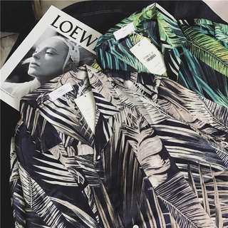 Tropical Hawaiian Korean Shirt